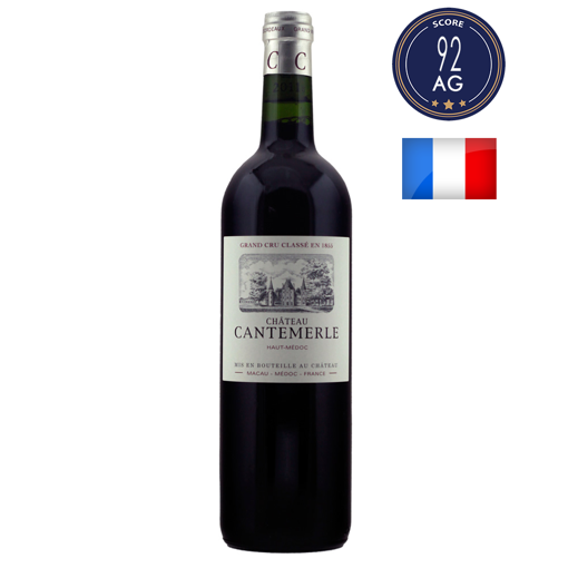 Chateau Cantemerle 2016 (375ml) (5eme Grand Cru Classe)