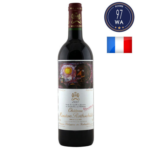 Chateau Mouton Rothschild 1998 (1er GCC) (法國波爾多紅酒 - Bordeaux)
